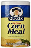 Quaker Corn Meal, Yellow, 24 Oz, Pack of 1