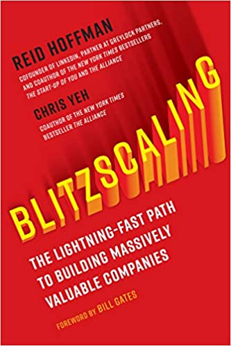 Amazon com: Blitzscaling: The Lightning-Fast Path to Building