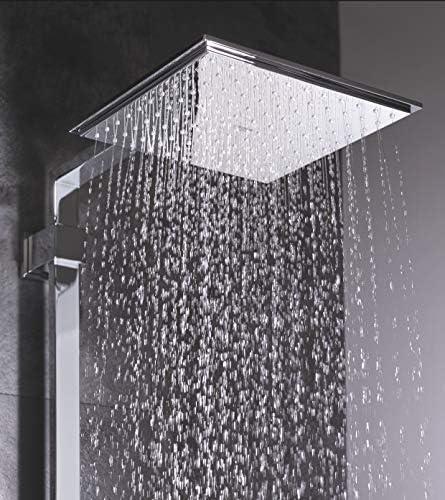 Kopfbrause Regenbrause Duschbrause Rain rostfrei Edelstahl 40cm Round SPA Wellness Regen Brause Shower