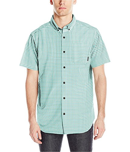 786f00eb7b3 Galleon - Columbia Men's Rapid Rivers Ii Short Sleeve Shirt, Teal Small  Plaid, Large