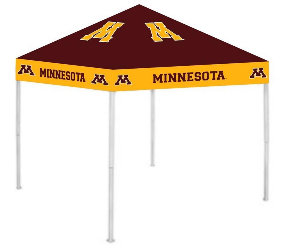 Rivalry RV274-5000 Minnesota Canopy B003XKEZBY 9 x 9|ミネソタゴールデンゴーファーズ ミネソタゴールデンゴーファーズ 9 x 9