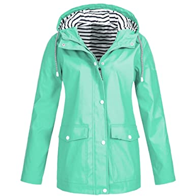 TOPKEAL Jacke Mantel Damen Herbst Winter Sweatshirt Steppjacke Kapuzenjacke Haariger Hemd Hoodie Lose unregelmäßig Pullover Outwear mit Taschen Coats