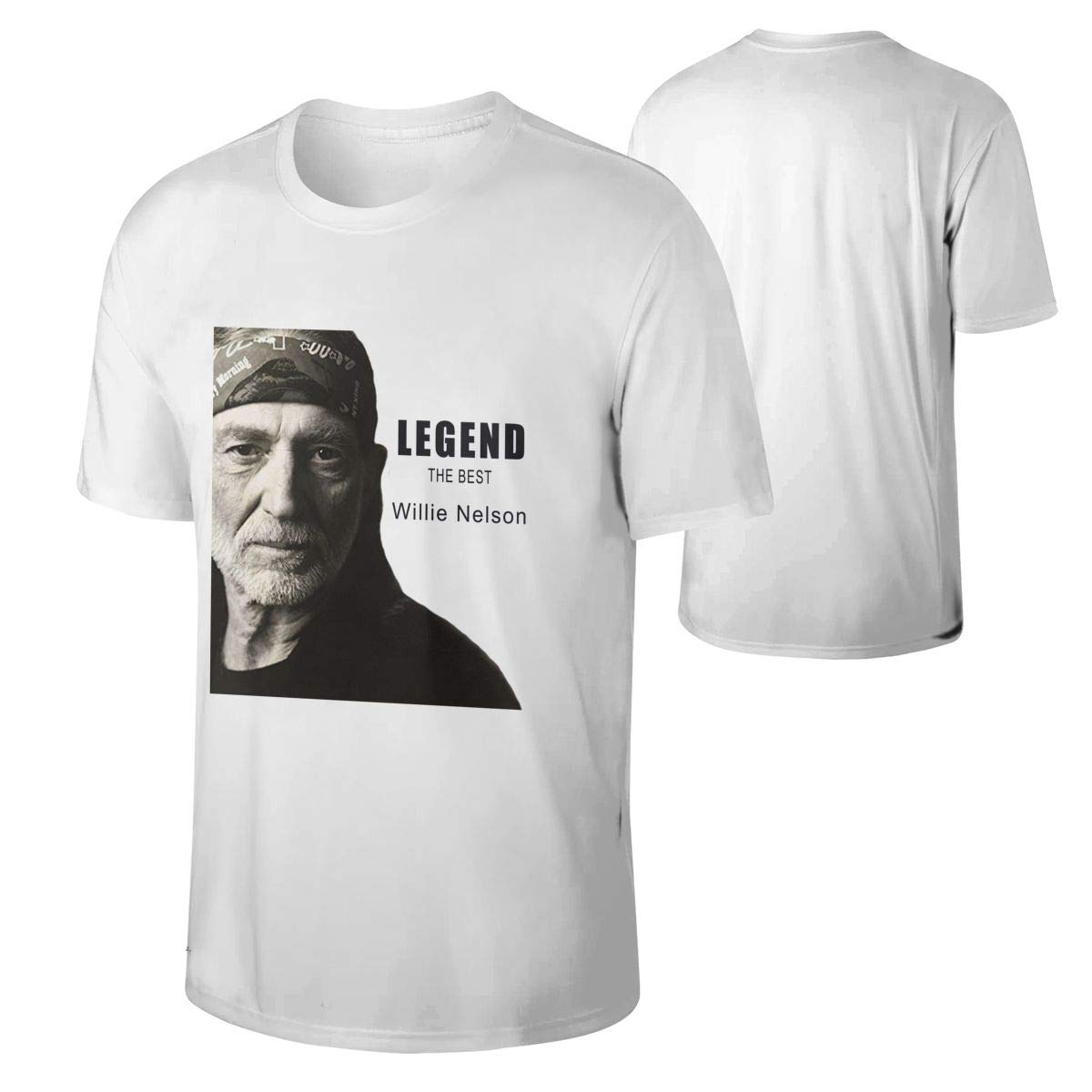 Mans Willie Nelson Hunting Breathable Adult Tee Gift Shirts