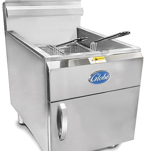 - Globe Food GF30PG Countertop 30-LB Capacity Liquid Propane Gas Fryer
