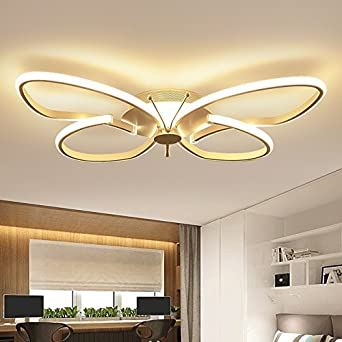 Renshengyizhan@ Mariposa moderna minimalista Led luces de ...
