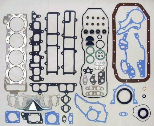 85-95 Toyota Pickup 22RE/22REC 2.4L 2366cc L4 8V SOHC Engine Full Gasket Kit Set (FelPro: HS8807PT-2, CS8807-1) (2.4l Sohc Engine)