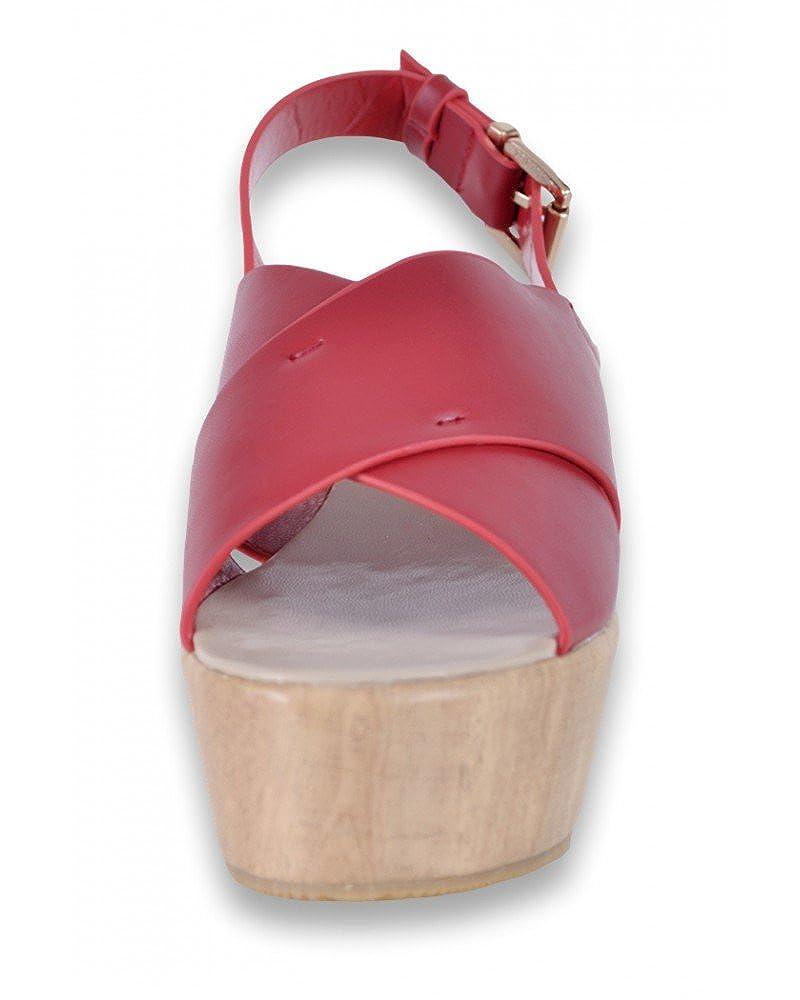 Chaussures femme Tiffosi Chaussure Femme Sandale Femme de Couleur Noir