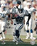 Marshall Faulk Autographed Indianapolis Colts 8x10 Photo JSA