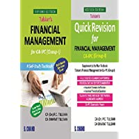 Tulsian's Financial Management for CA-IPC With Quick Revision Book (Group-I)