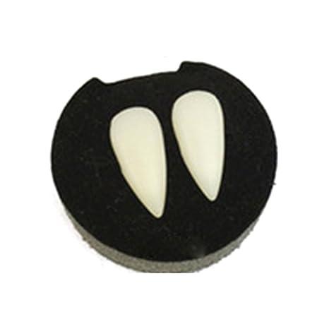 4 tamaños de dientes de vampiro para fiesta de Halloween ...