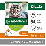Flea Prevention for Cats - 5-9 lb - 6 doses - Advantage II
