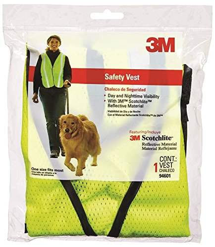 3M 94601-80030 Yellow Day Or Night Safety Vest by 3M