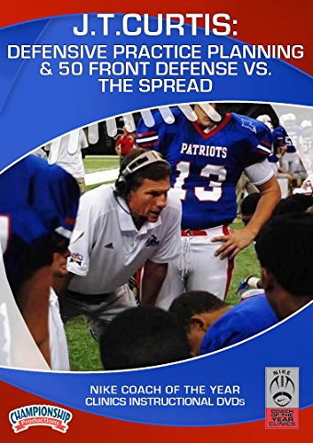 Defensive Practice Planning and 50 Front Defense vs. the Spread (Football 50 Defense)