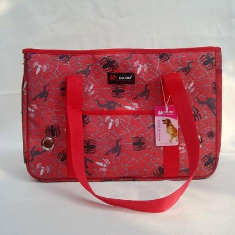 The Amazing Spiderman Red Colored Pet Carrying Dog Shoulder Bag-Size Small