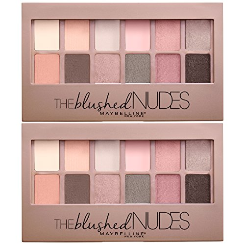 Maybelline New York The Blushed Nudes Eyeshadow Makeup Palet