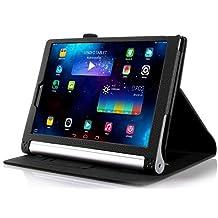 IVSO Lenovo YOGA 2 8-Inch Flip Case - Slim Folio Book Case Cover for Lenovo YOGA 2 8-Inch Tablet(Black)