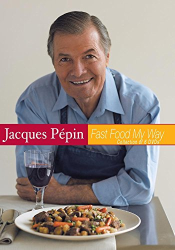 Jacques Pepin Fast Food My Way Set of 6 (Jacques My Dvd Way Pepin)