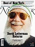 New York Magazine (March 6-19, 2017) David Letterman Cover