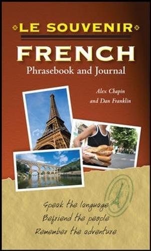 Le souvenir French Phrasebook and Journal (Il Souvenir)