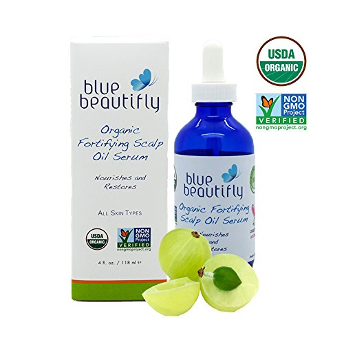 Organic Fortifying Scalp Oil Serum by Blue Beautifly