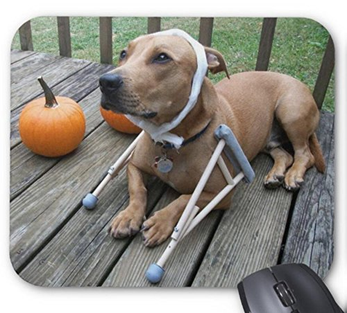 Mouse Mat Adorable Dog Halloween Costume Print Mouse Pad -