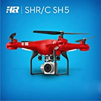 Leewa@ HR SH5HD 2MP 170° Wide Angle Lens HD Camera Quadcopter RC Drone -WiFi FPV Live Helicopter Hover