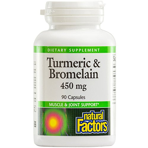 Natural Factors Turmeric Bromelain Standardized