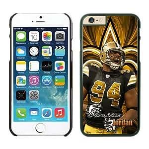 NFL iPhone 6 4.7 Inches Case New Orleans Saints Cameron Jordan Black iPhone 6 Cell Phone Case HGEROVFD2779