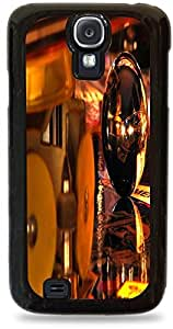 Pinball Galaxy s4 Black Silicone Case