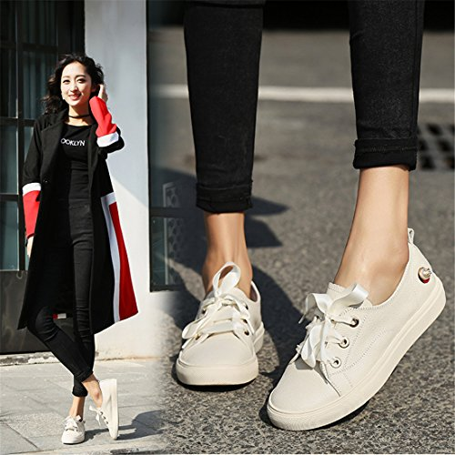 Zapatillas Para Correr Para Correr Al Aire Libre Para Mujer Zapatillas Para Correr Ligeras Y Ocasionales A8121-2h Color Crema