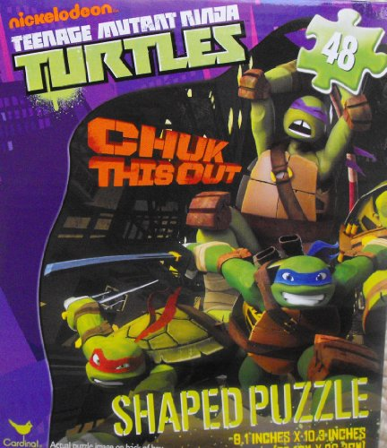 Teenage Mutant Turtles Shaped Puzzle