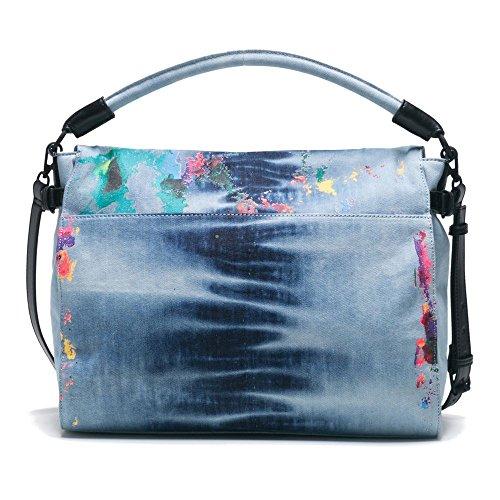 Shoulder Jeans Bag Splash Desigual 80' Formentera XwqB7T0t