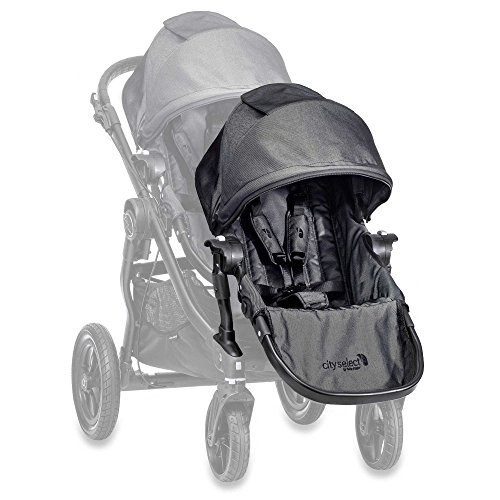 City Select Baby Jogger® Black Frame Second Seat Kit in Charcoal