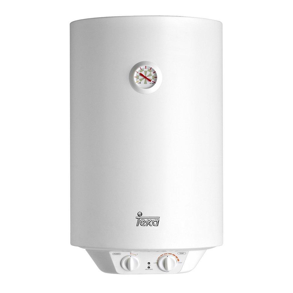 Teka - Termo Electrico Ewh30, 30L, 594 X 360 X 340 mm, Tanque Esmaltado, Resistencia Ceramica, Termostato De Temperatura 30-75º, 1500W, Blanco: Amazon.es: ...