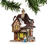 Department 56 Dickens A Christmas Carol Village Melancholy Tavern Miniature Lit Hanging Ornament