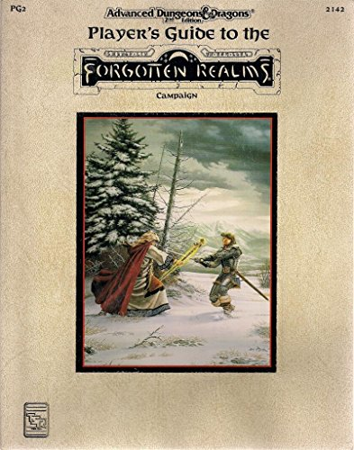 The Player's Guide to the Forgotten Realms Campaign (Advanced Dungeons & Dragons, 2nd Edition : Forgotten Realms) Players Guide 2nd Edition