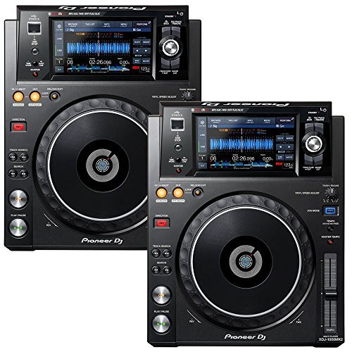 Best Price! Pioneer XDJ-1000MK2 DJ Multi Player Pair