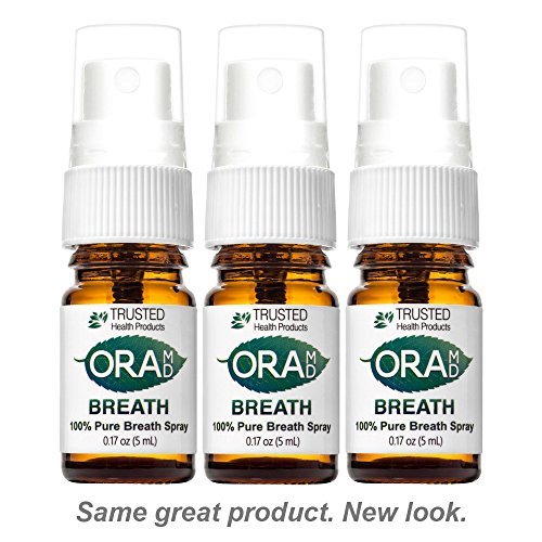 OraMD Natural Breath Spray - Stops Bad Breath
