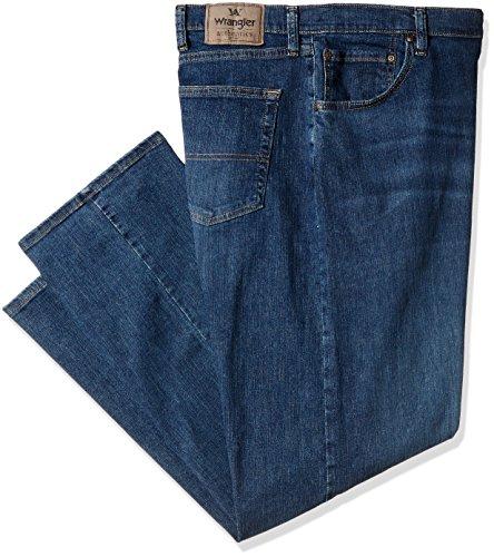 Wrangler Authentics Men's Big and Tall Classic Regular Fit Jean, Twilight Flex, (Big Tall Mens Jeans)