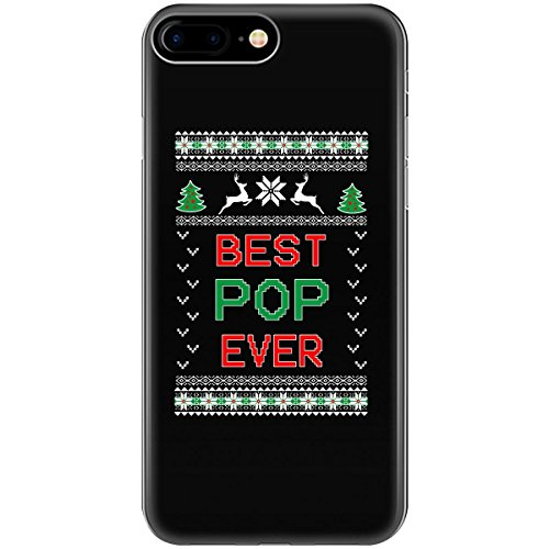 Gifts For Pop Best Ever Ugly Christmas Sweater Style - Phone Case Fits Iphone 6 6s 7 8 for $<!--$12.99-->