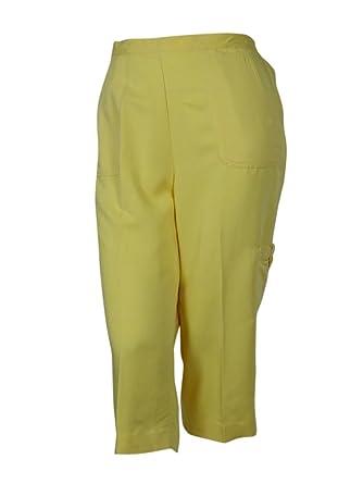 a45de5c369ba8 Alfred Dunner Cargo Capri Pants