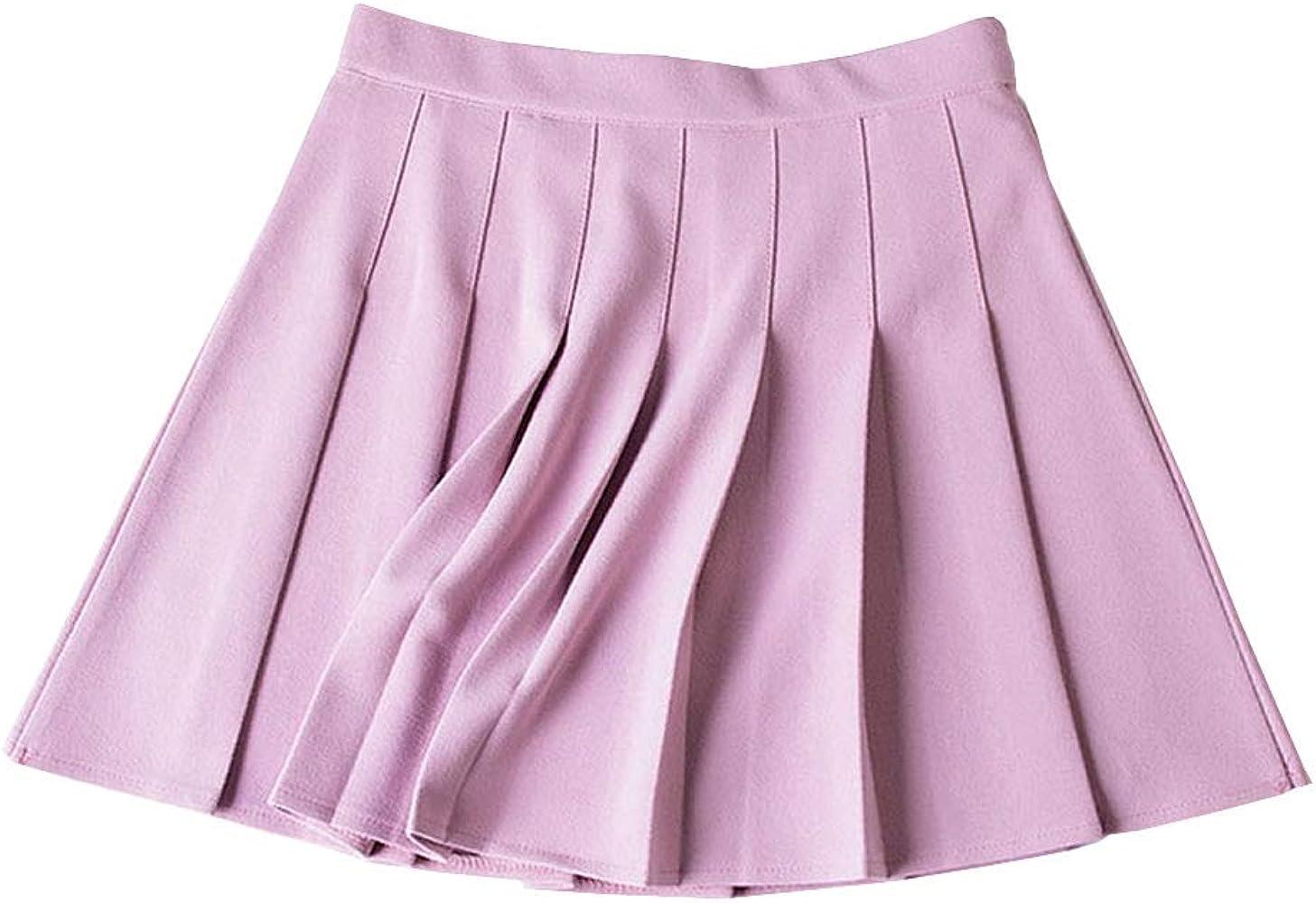 E-Girl E8714 - Falda Plisada para Mujer Rosa XL=42: Amazon.es ...