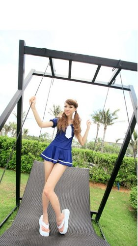 School Uniform School style swimsuit size L cosplay one piece bottom separate type CSMBL (japan import)