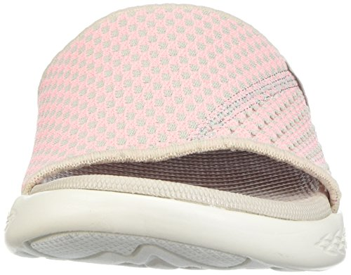 Go on Plateau Beige Rose Sandales 600 Skechers Nitto Femme The STxSw