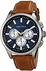 Nautica Men's Navy Dial Watch