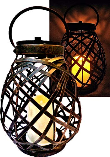 Rattan Outdoor Lighting in US - 6