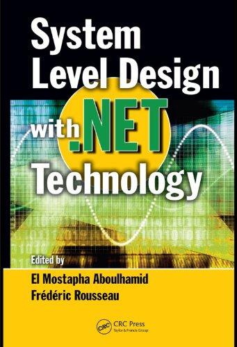 System Level Design with .Net Technology Pdf