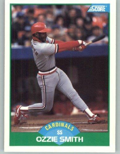 Amazoncom 1989 Score Baseball Card 80 Ozzie Smith Collectibles