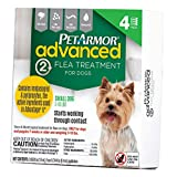 PetArmor Advanced 2 Dogs 3-10lbs (4 Applicators)