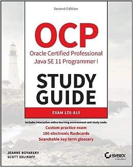 Amazon com: OCP Oracle Certified Professional Java SE 11